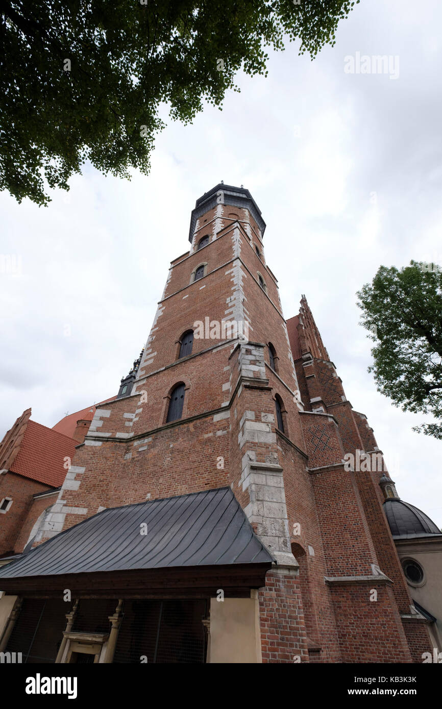Corpus Christi Basilica in Krakow, Poland, Europe Stock Photo