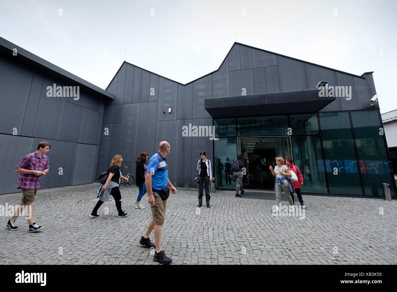 MOCAK - Museum of Contemporary Art in Krakow, Poland, Europe - Stock Image