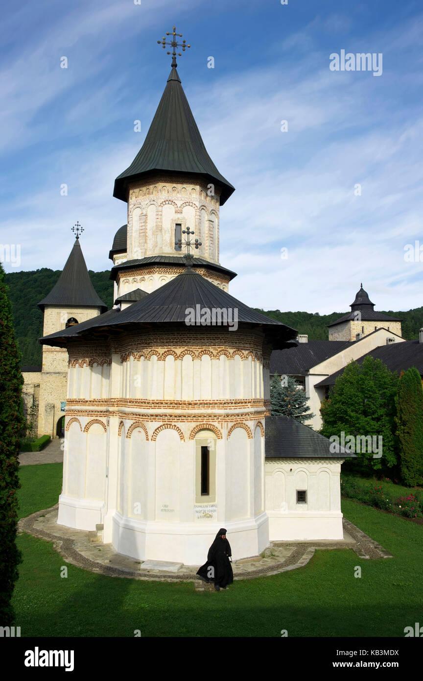 Romania, Piatra Neamt region, Secu monastery - Stock Image