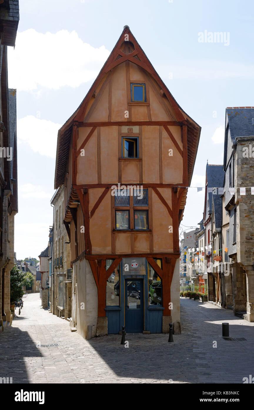 France, Ille Et Vilaine, Vitré, Stop On The Way Of St