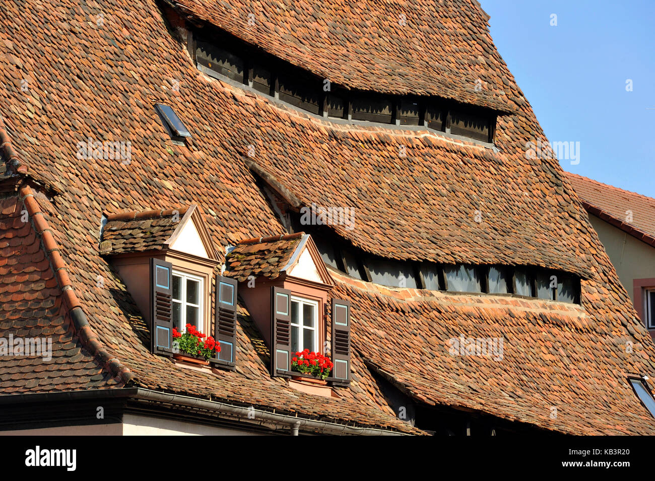 France, Bas Rhin, Wissembourg, Maison du sel (salt house) - Stock Image
