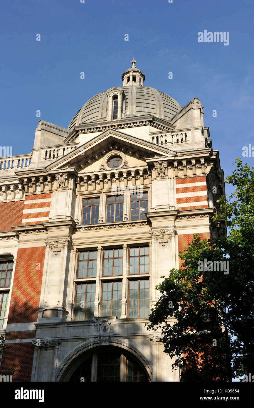 United Kingdom, London, South Kensington, Victoria and Albert Museum (V&A Museum) founded in 1852 - Stock Image