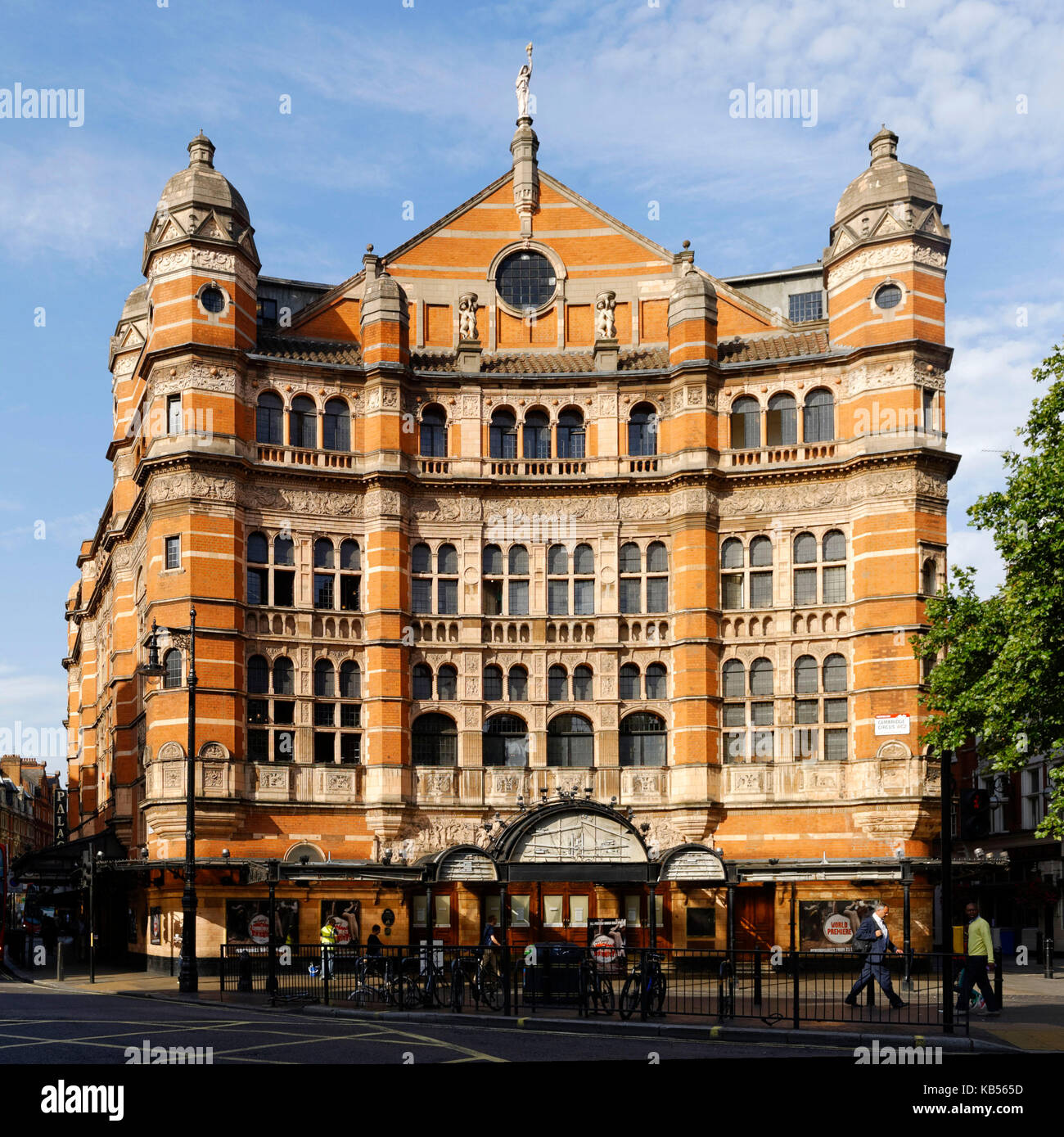 United Kingdom, London, Soho, Palace theatre, Shaftesbury Ave - Stock Image