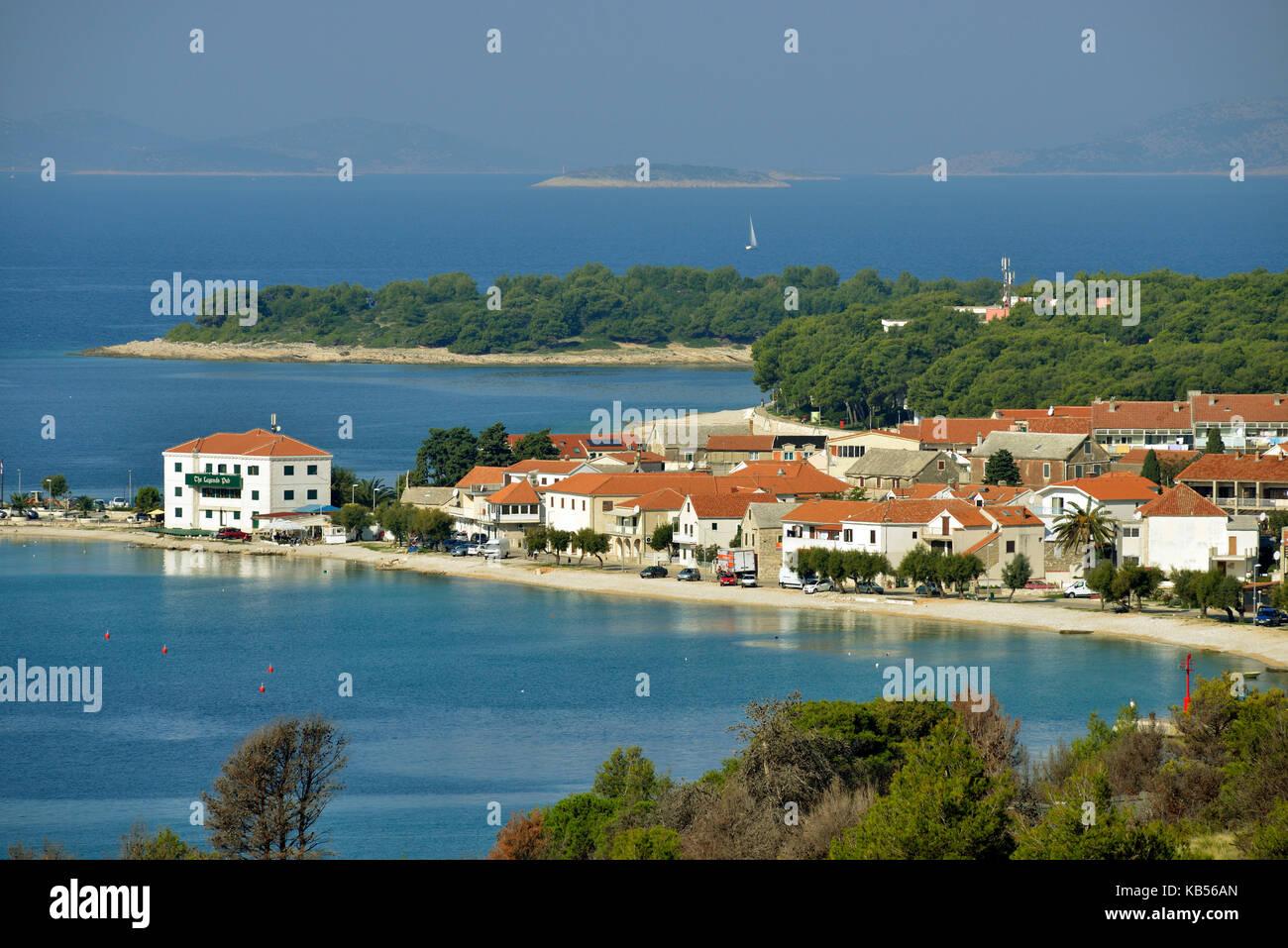 Croatia, Dalmatia, Dalmatian Coast, Primosten - Stock Image