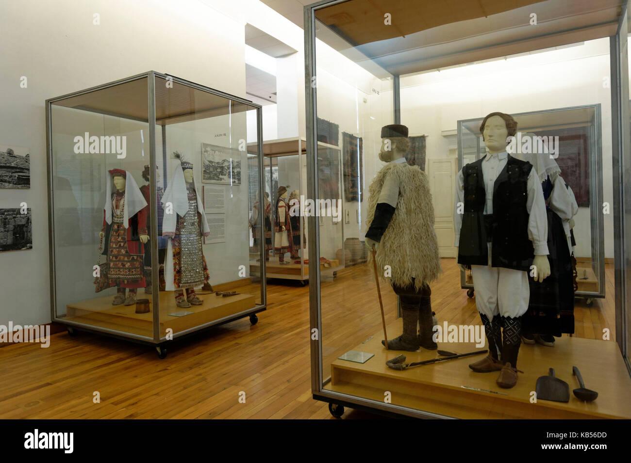 Croatia, Zagreb, museum of Ethnography - Stock Image