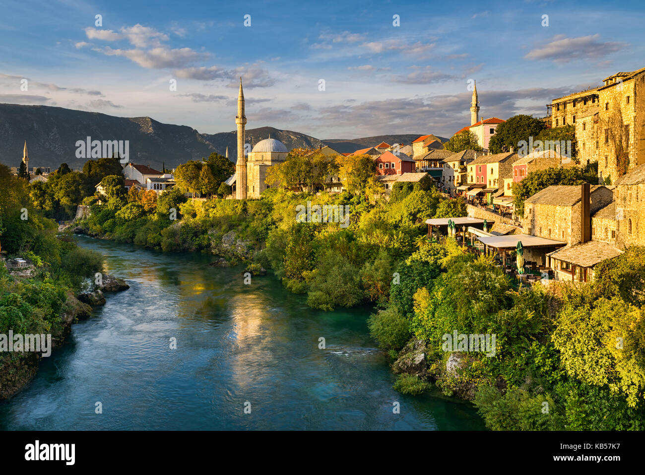Old town of Mostar, Bosnia and Herzegovina - Stock Image