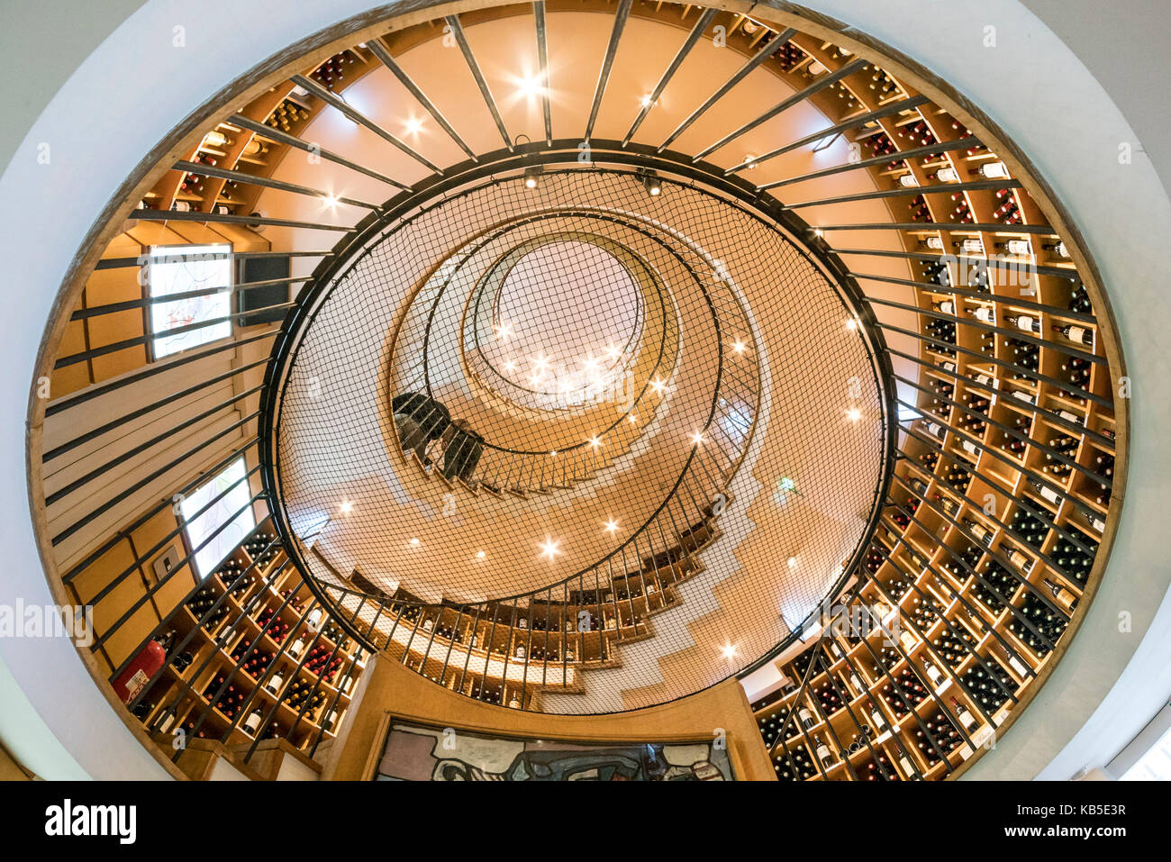 Famous wine shop L Intendant, Allees Tourny, Bordeaux, France Stock Photo