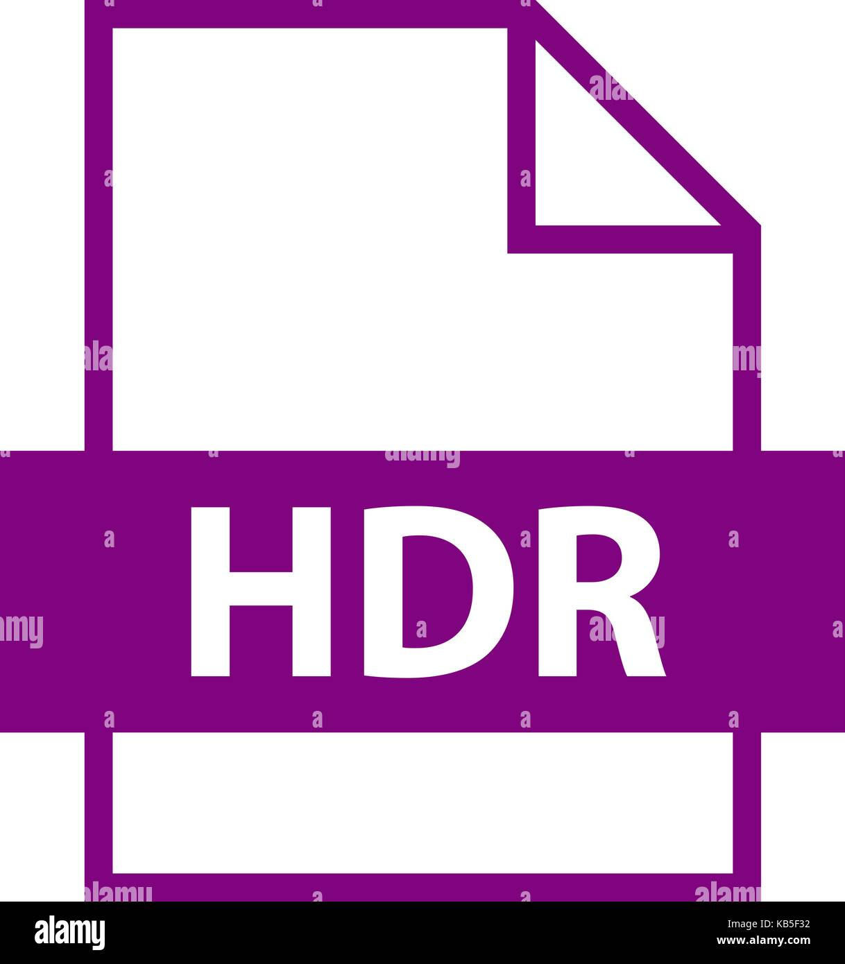 use it in all your designs filename extension icon hdr high dynamic rh alamy com file extension htri file extension hdt