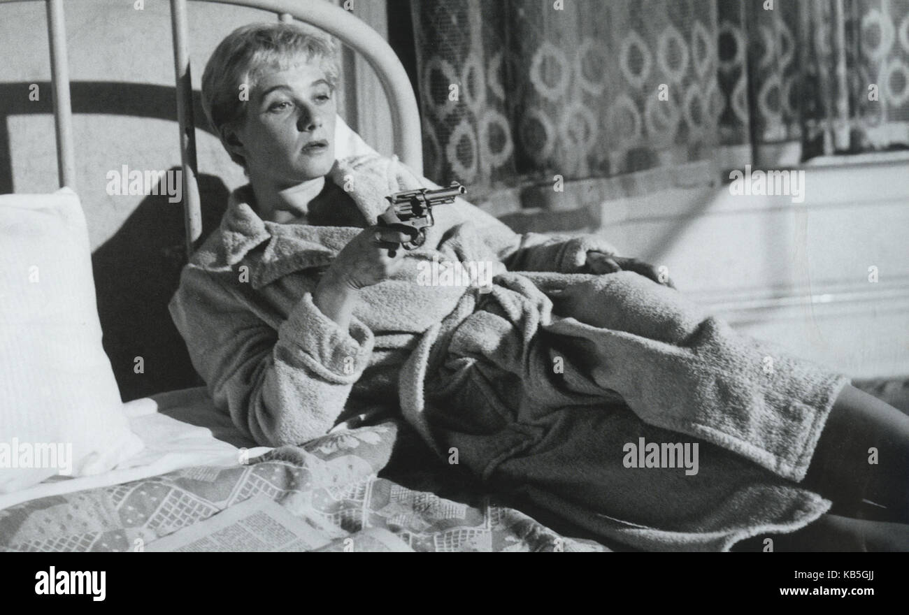 KISS ME DEADLY 1955 United Artists film with Gaby Rodgers - Stock Image