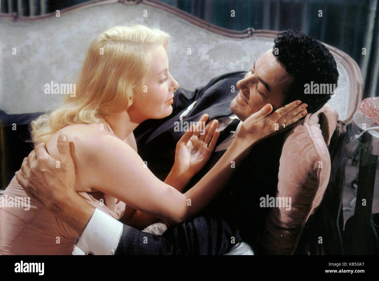 THE BIG COMBO 1955 Security Pictures film with Jean Wallace and Cornell Wilde - Stock Image