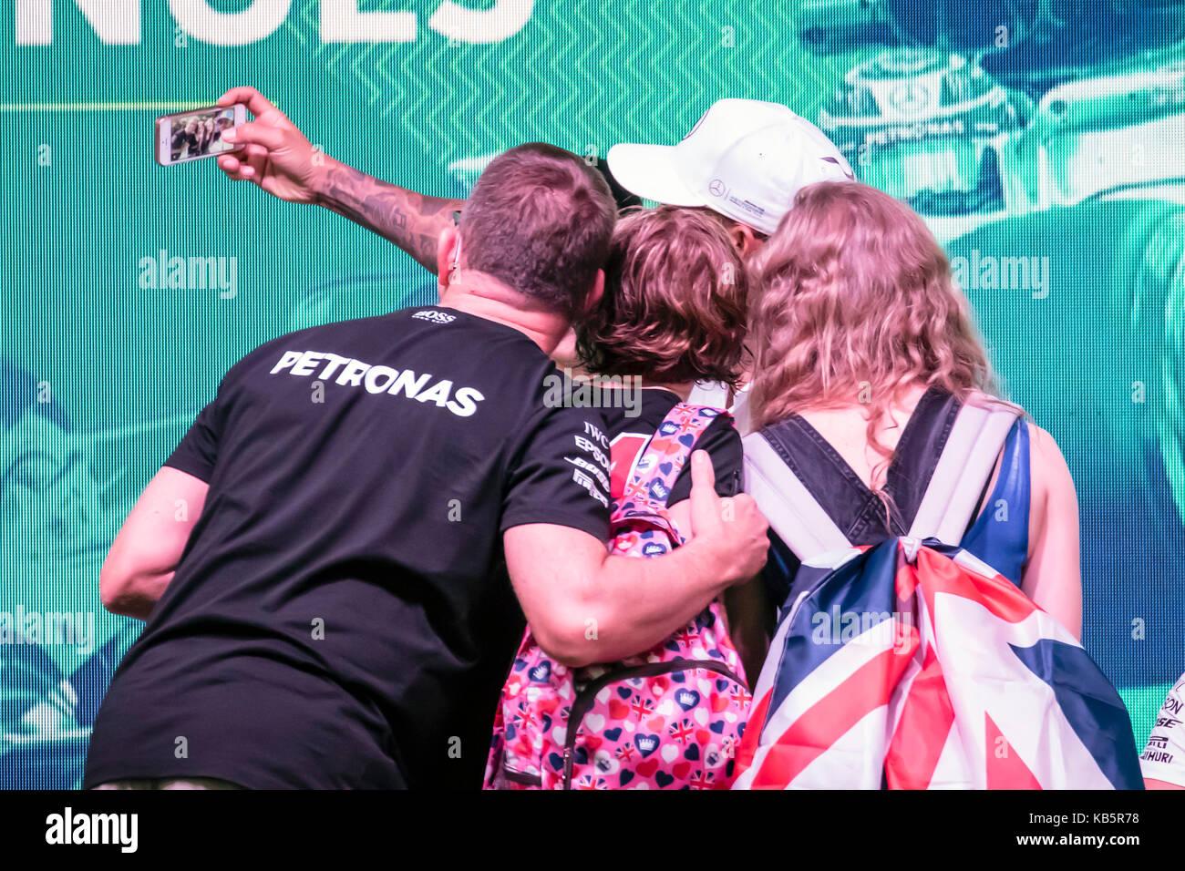 Lewis Hamilton 2017 Stock Photos Lewis Hamilton 2017 Stock Images
