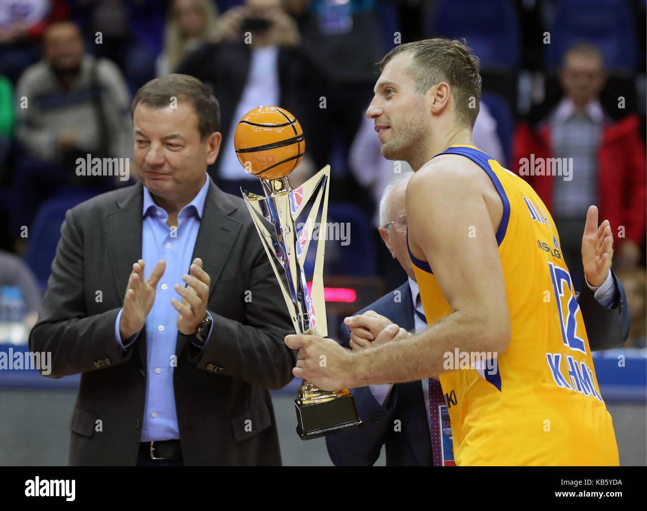 Alexander Gomelsky President Cska Basketball Stock Photos ... 73ea44fd1