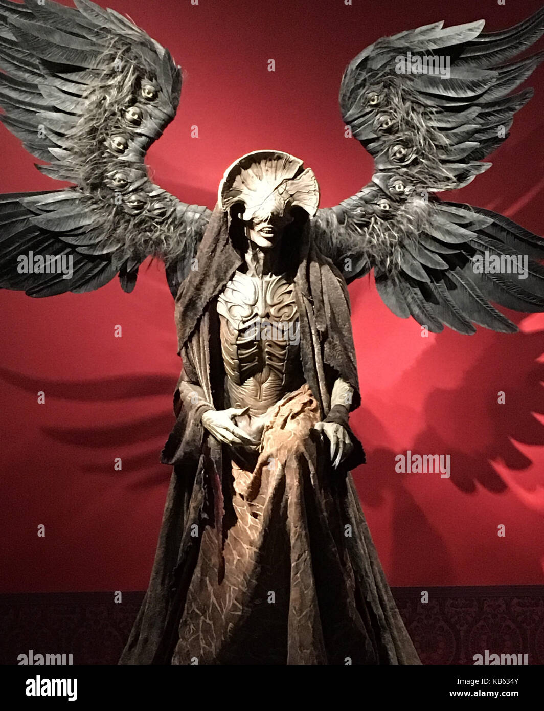 Angel Of Death 2017 toronto, canada. 26th sep, 2017. a life-size statue of the
