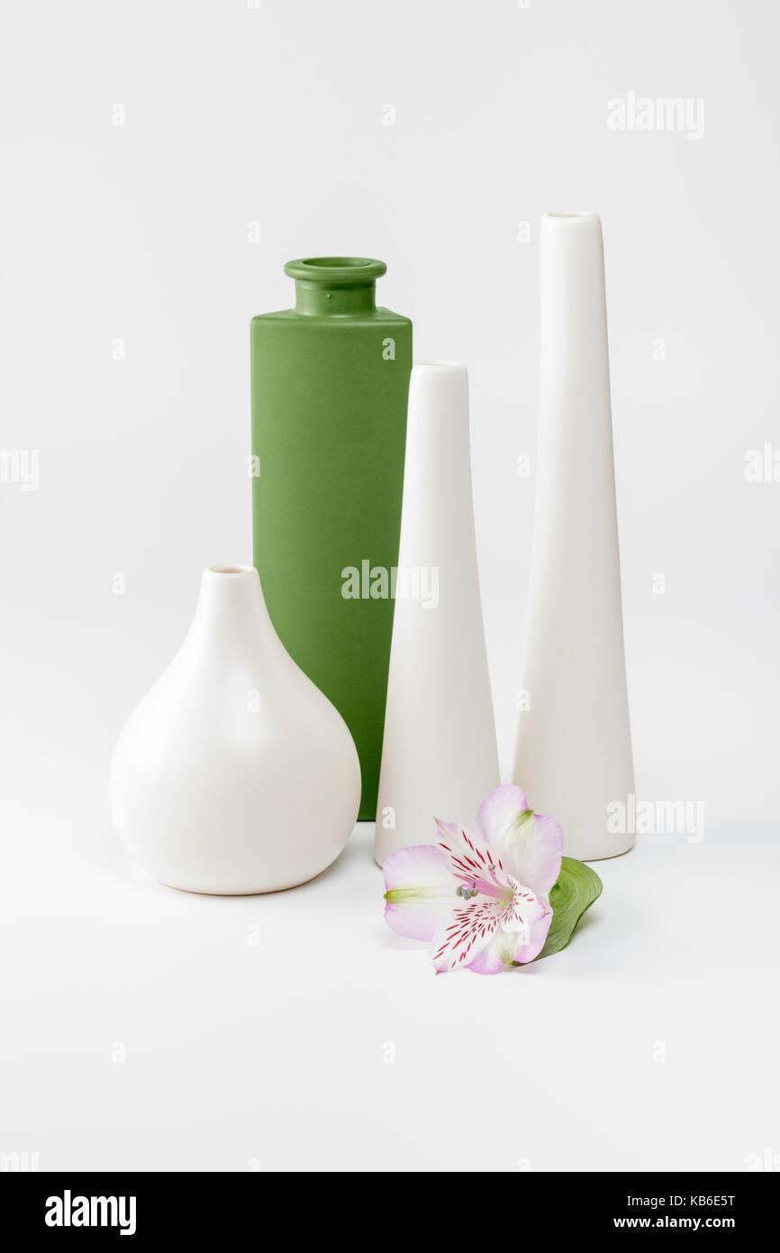 Empty Vases - Stock Image