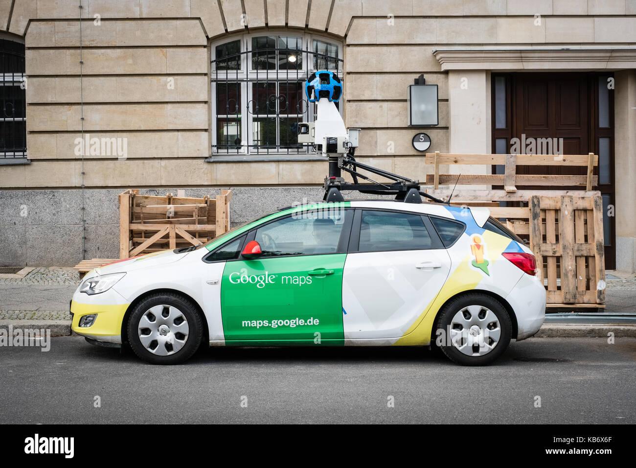 Google Maps Street View Car Camera Stock Photos Google Maps