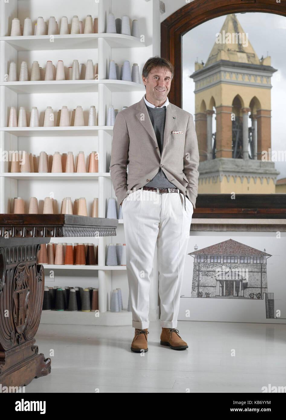 pretty nice 1384a 44259 Brunello Cucinelli fashion designer and producer of cashmere ...