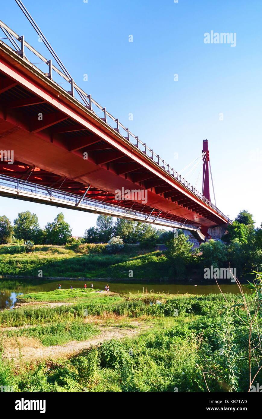 Indiano Bridge Florence Italy Stock Photo