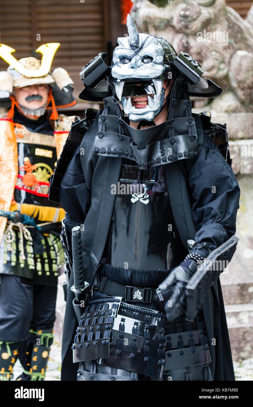 Samurai Costume Stock Photos Samurai Costume Stock Images Alamy
