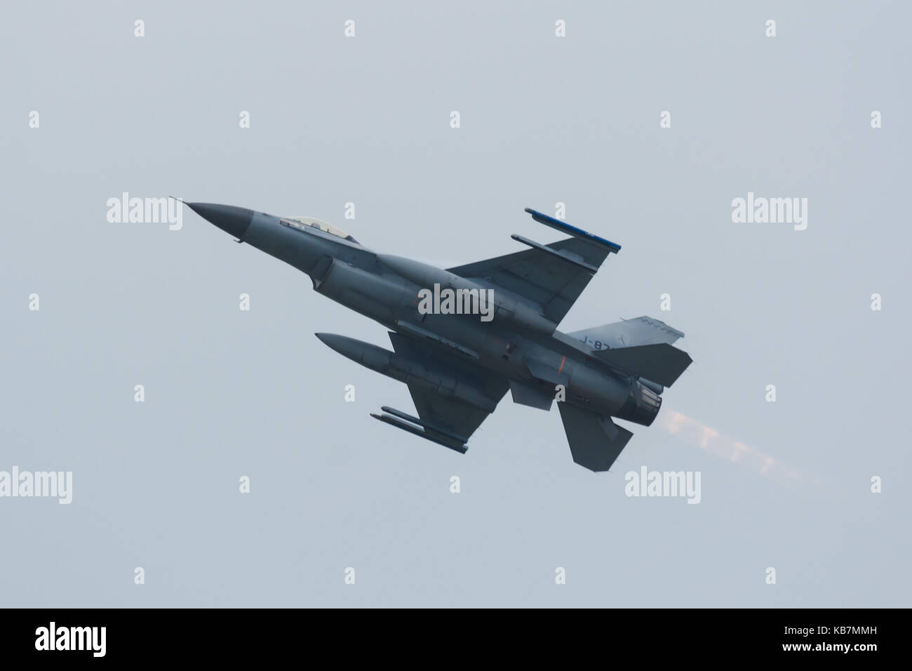 Lockheed Martin F-16AM Fighting Falcon at Luchtmachtdagen - Stock Image