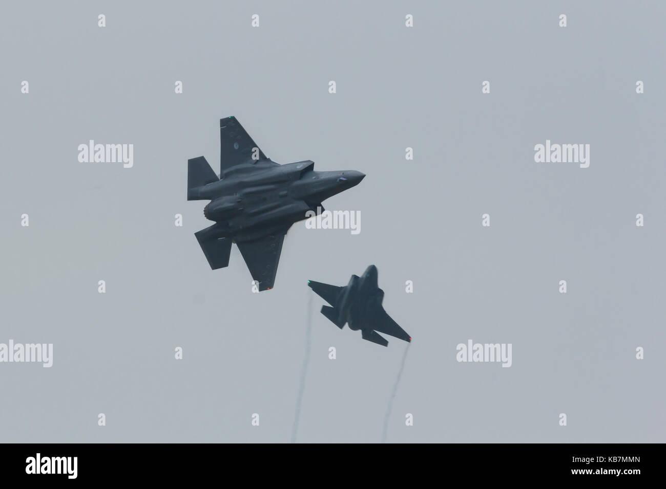 Lockheed Martin-F-35 Lightning II - Stock Image