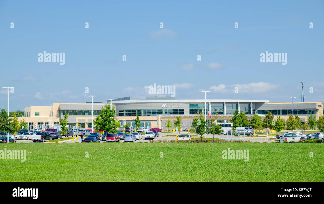 U.S. Department of Veterans Affairs, VA hospital, outpatient clinic in Montgomery, Alabama, United States. - Stock Image