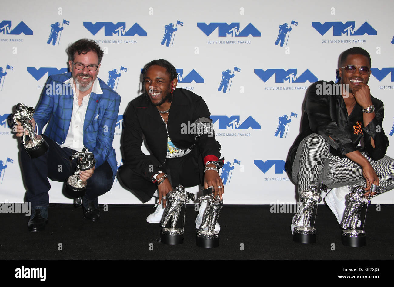 MTV Video Music Awards (VMA) 2017 Press Room, held at the Forum in
