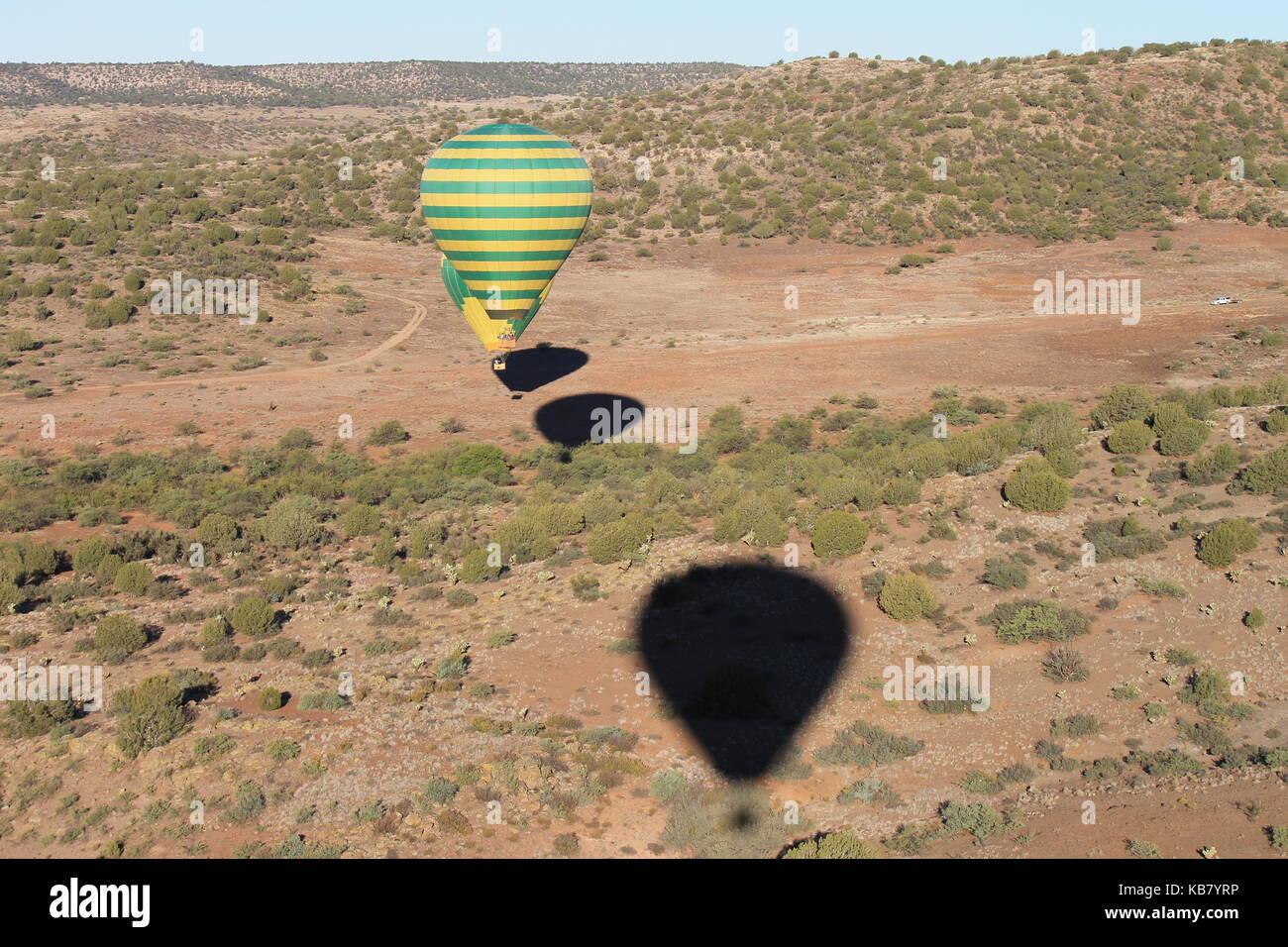 balloon ride Stock Photo
