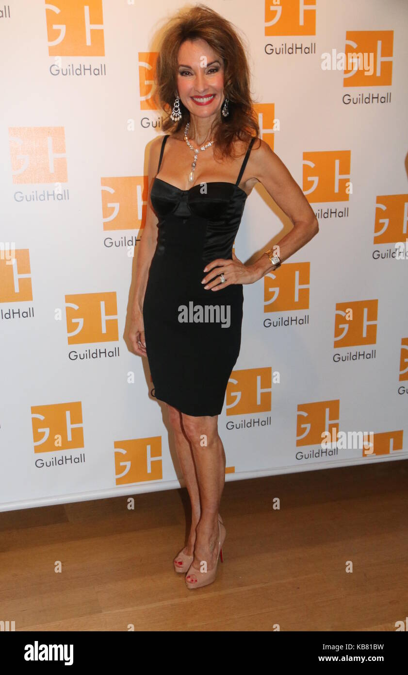 Celebrity Autobiography Guild Hall 2017  Featuring: Susan Lucci Where: East Hampton, New York, United States When: - Stock Image