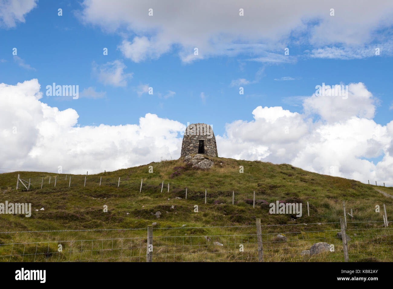The Land Struggle, Memorial of the Heroes of the Lochs , Lewis Island, Scotland, UK - Stock Image