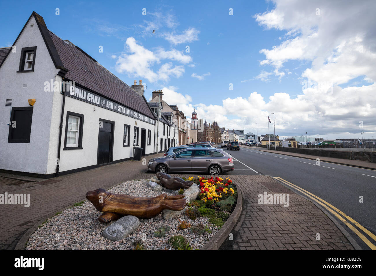 Stornoway, Outer Hebrides, Scotland, UK - Stock Image