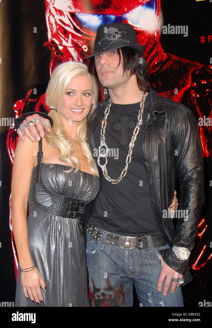 holly madison and criss angel stock photos & holly madison and criss