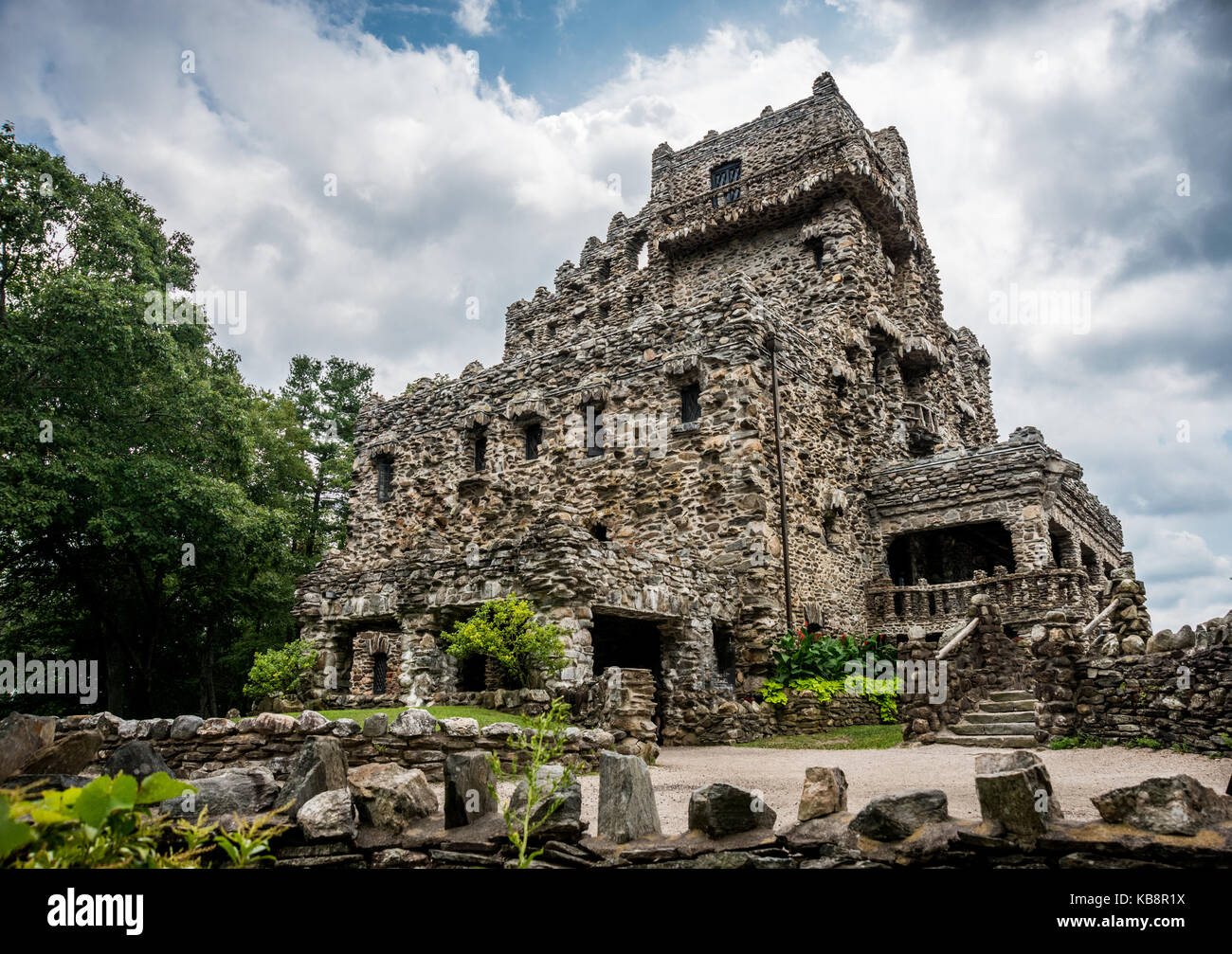 Gillette Castle in Connecticut - Stock Image