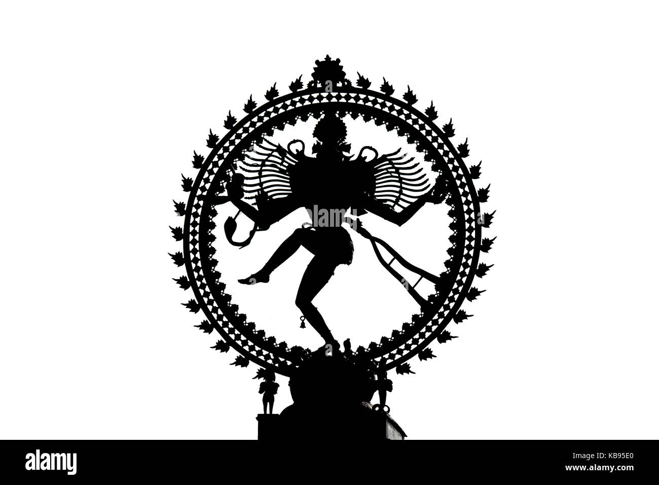 Cosmic shiva stock photos cosmic shiva stock images alamy silhouette of nataraja depiction of the hindu god shiva as the cosmic ecstatic dancer biocorpaavc Image collections