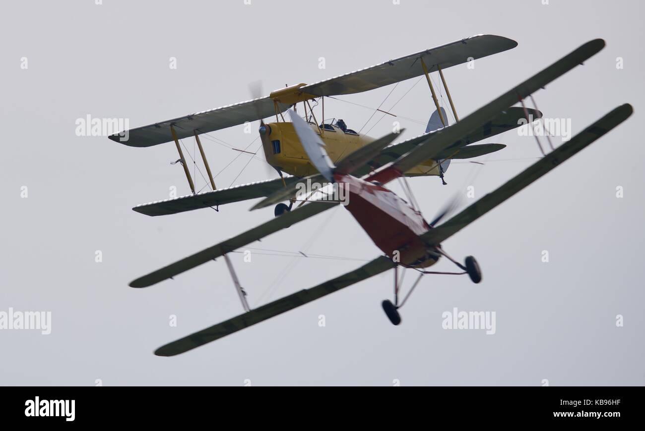 Tiger 9 Aeronautical Display Team - Stock Image