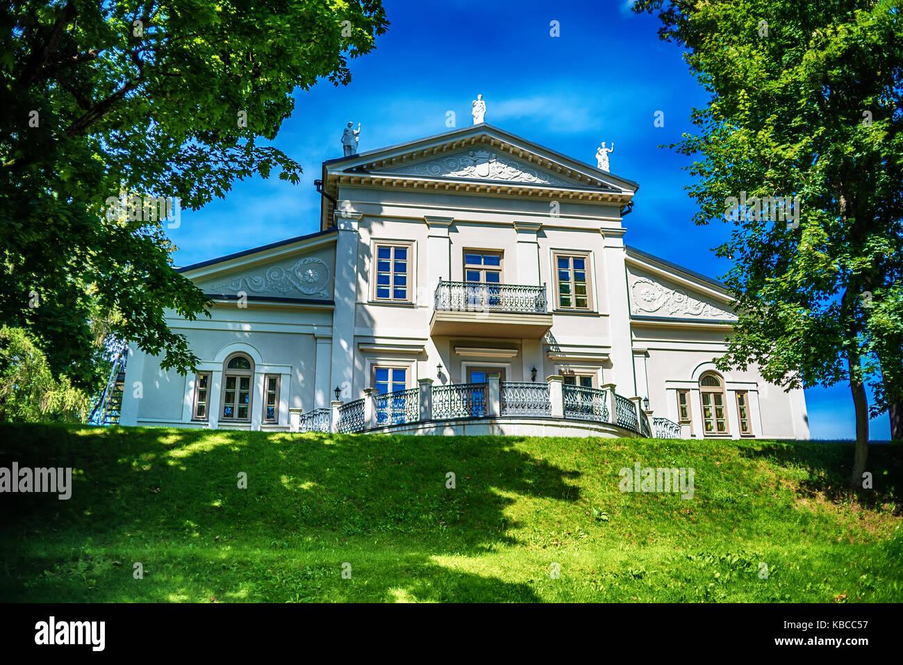 Vilnius, Lithuania: The Memorial Complex of the Tuskulenai Peace Park, where the victims of 1944-1947 soviet NKVD - Stock Image