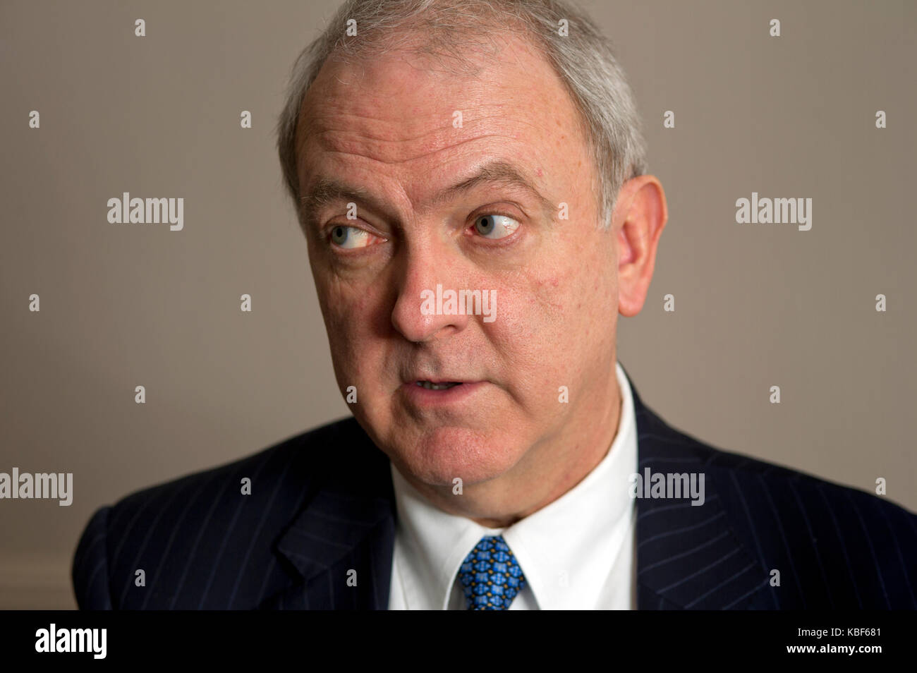 Sir Bruce Keogh, Clinical Director of the National Health Service. - Stock Image