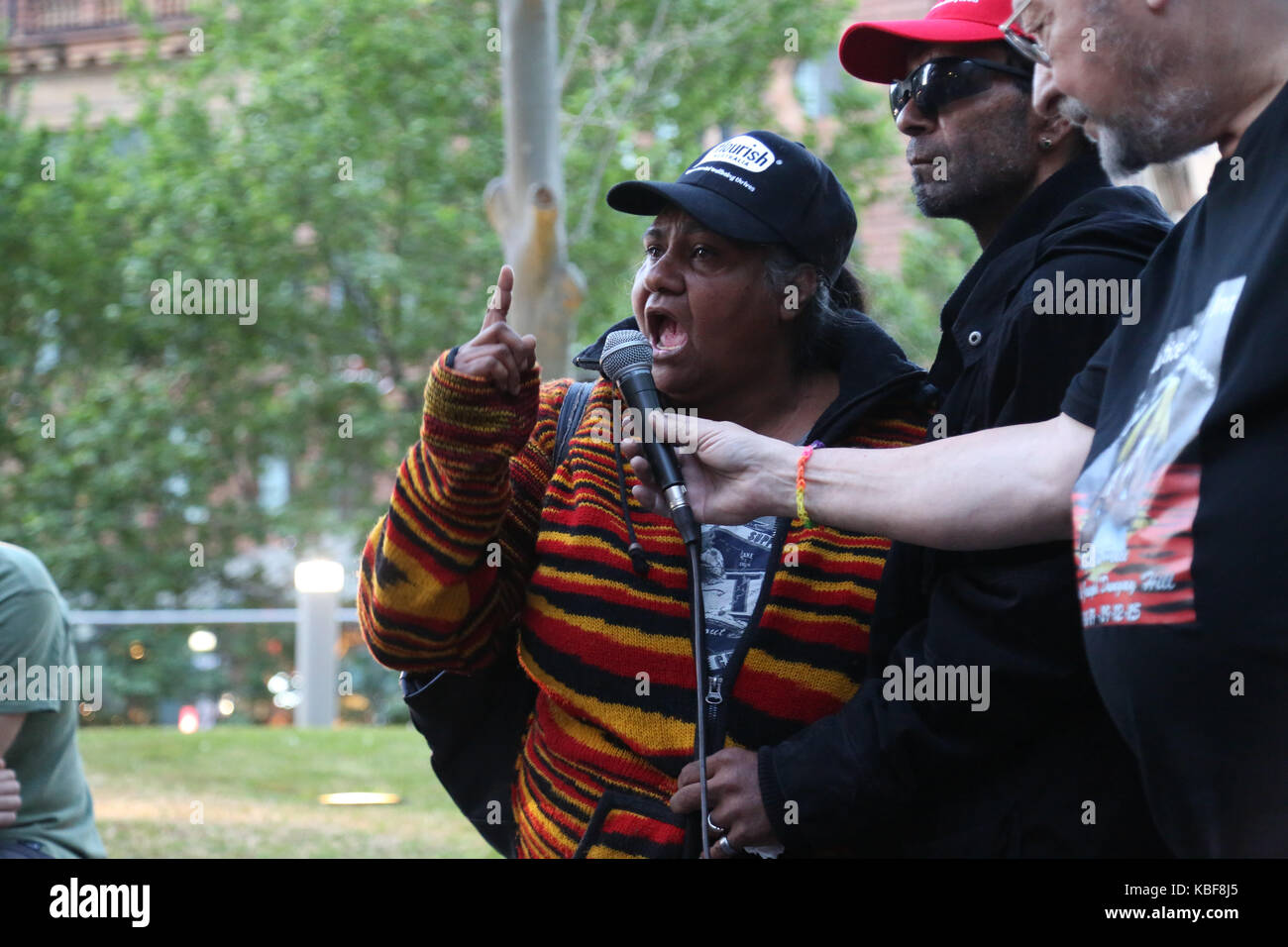 Sydney, Australia. 29th Sep, 2017. A national day of action was held across the country as protesters called for - Stock Image