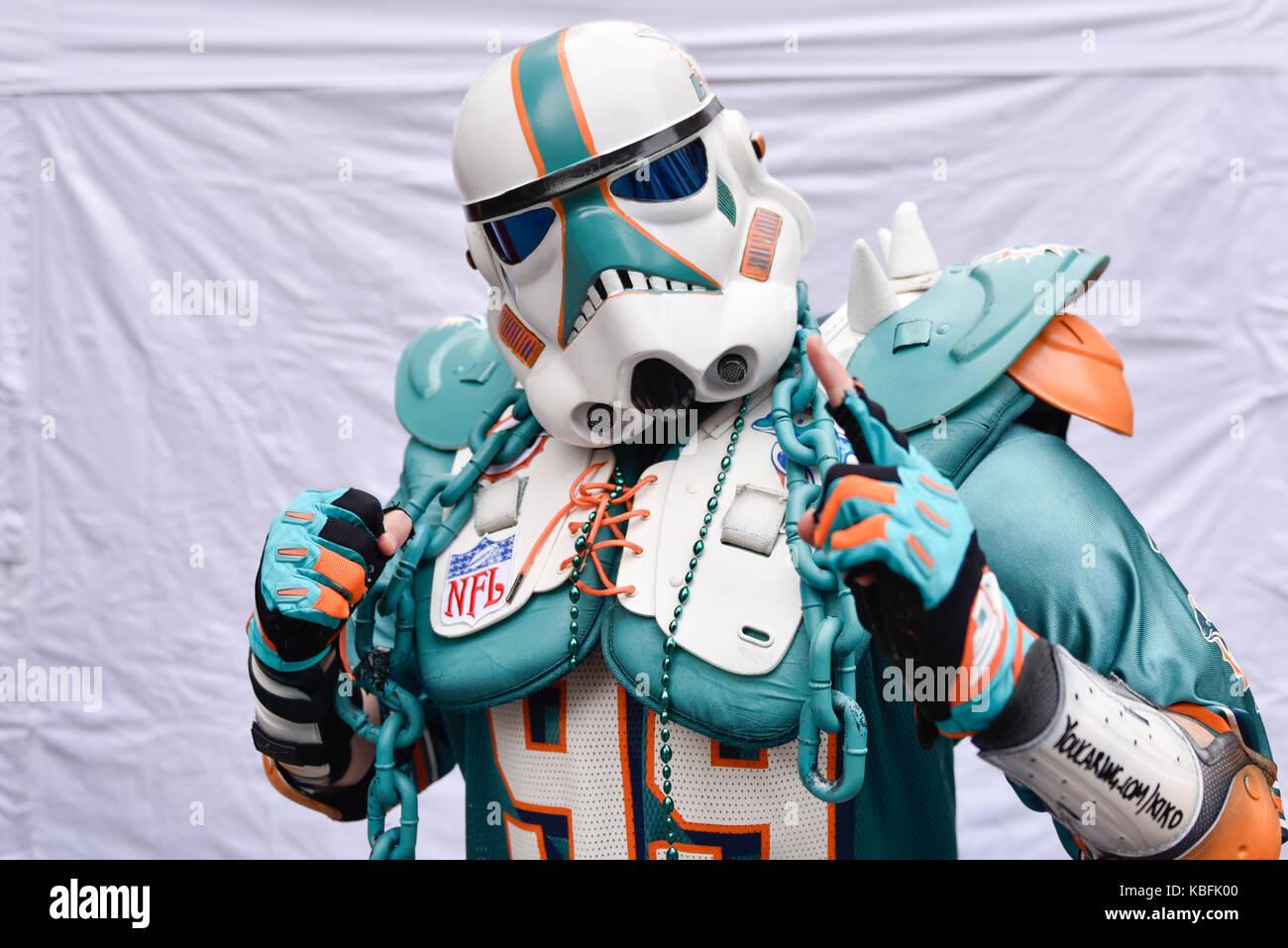 Miami Dolphins 2017 Stock Photos & Miami Dolphins 2017 Stock Images ...
