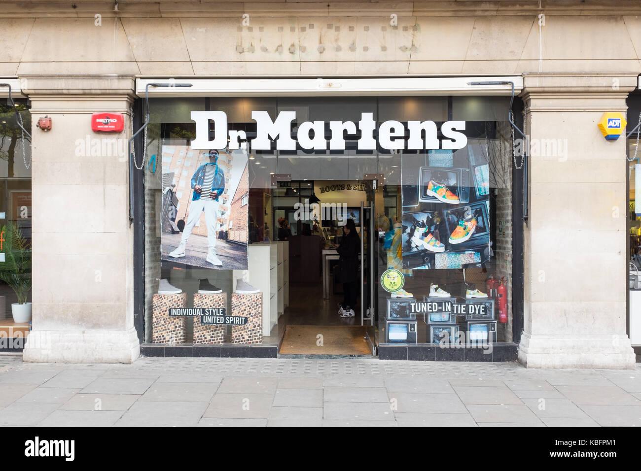 Dr Martens Shop High Resolution Stock