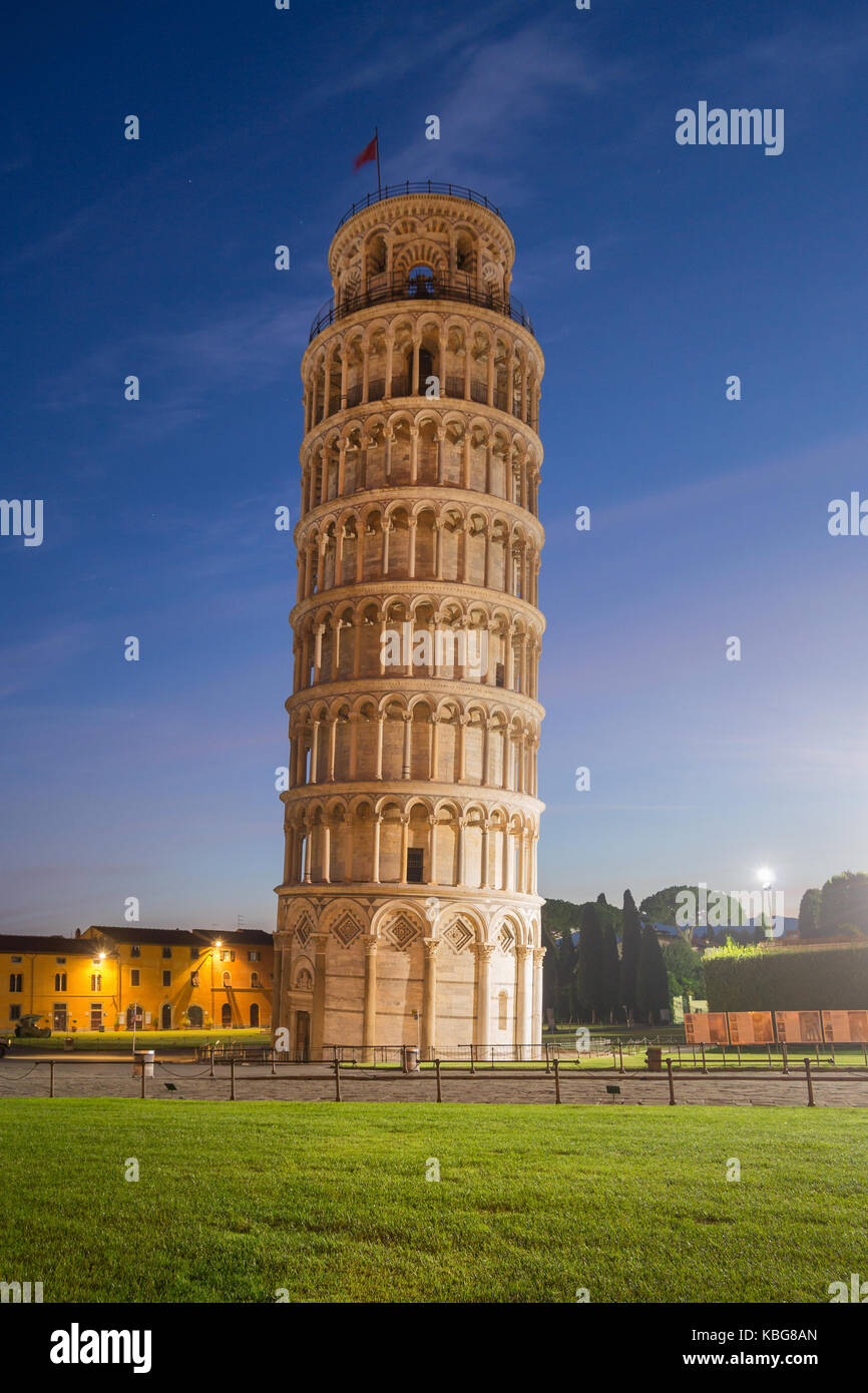 Leaning Tower - Pisa, Itlay - Stock Image