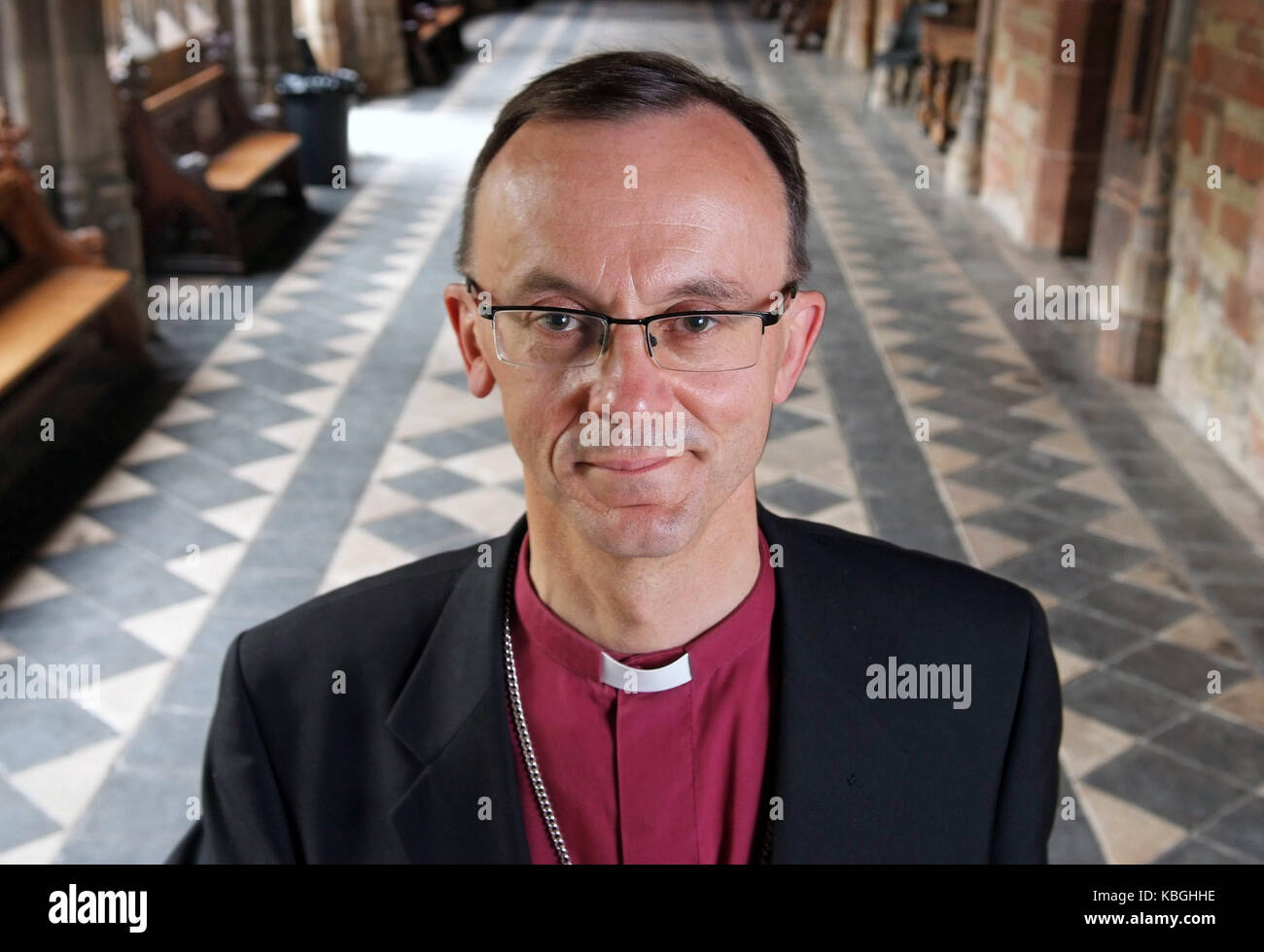 The Right Reverand Dr.John Inge, Bishop of Worcester - Stock Image
