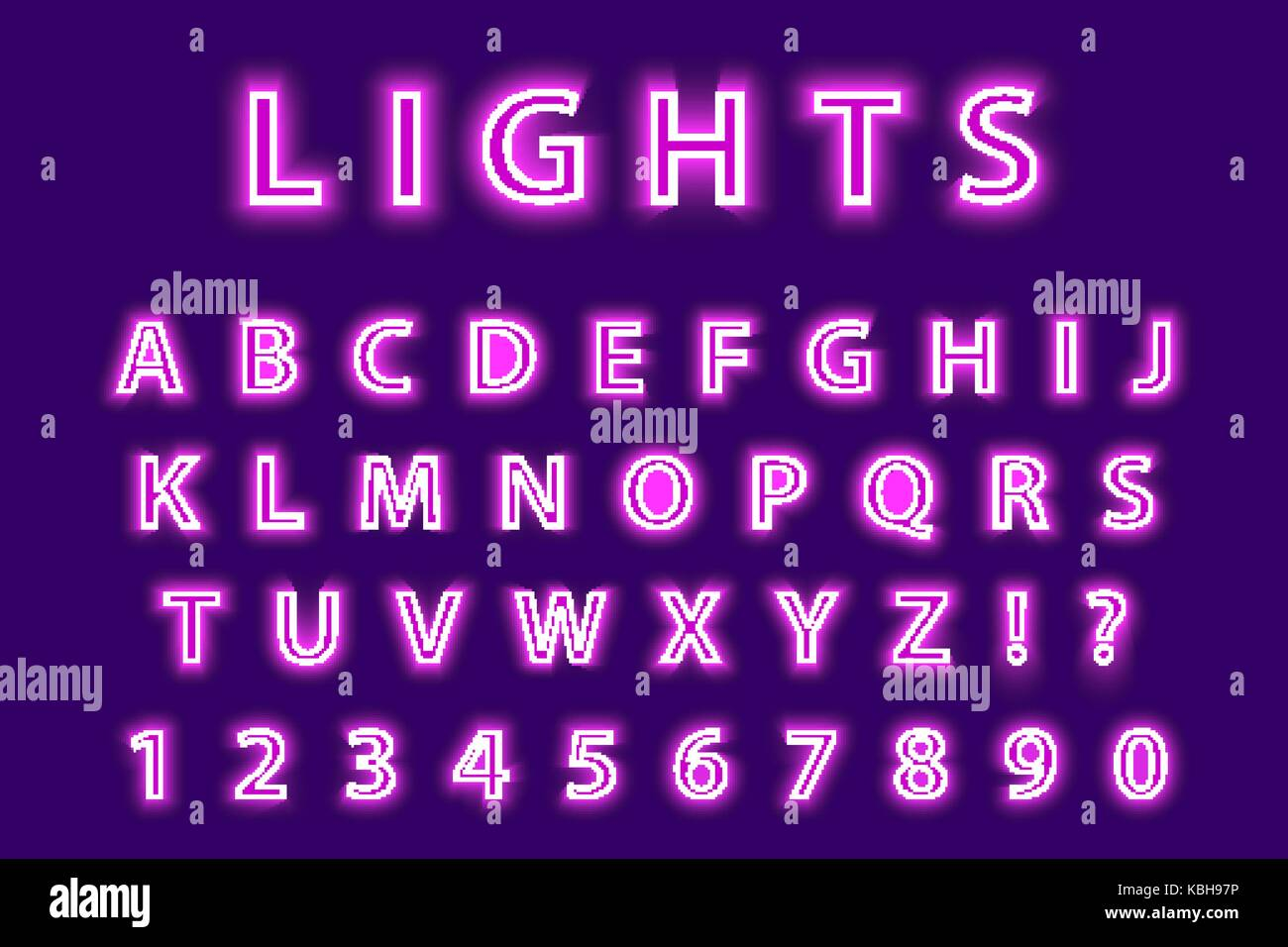 Led Font Stock Photos & Led Font Stock Images - Alamy