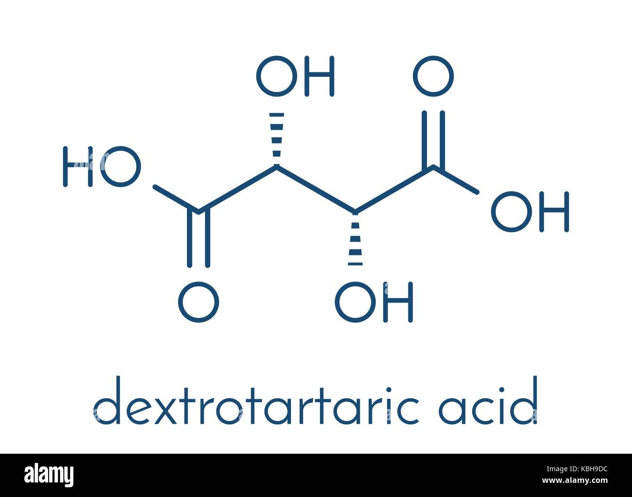 Tartaric Acid Molecule Stock Photos Tartaric Acid Molecule Stock