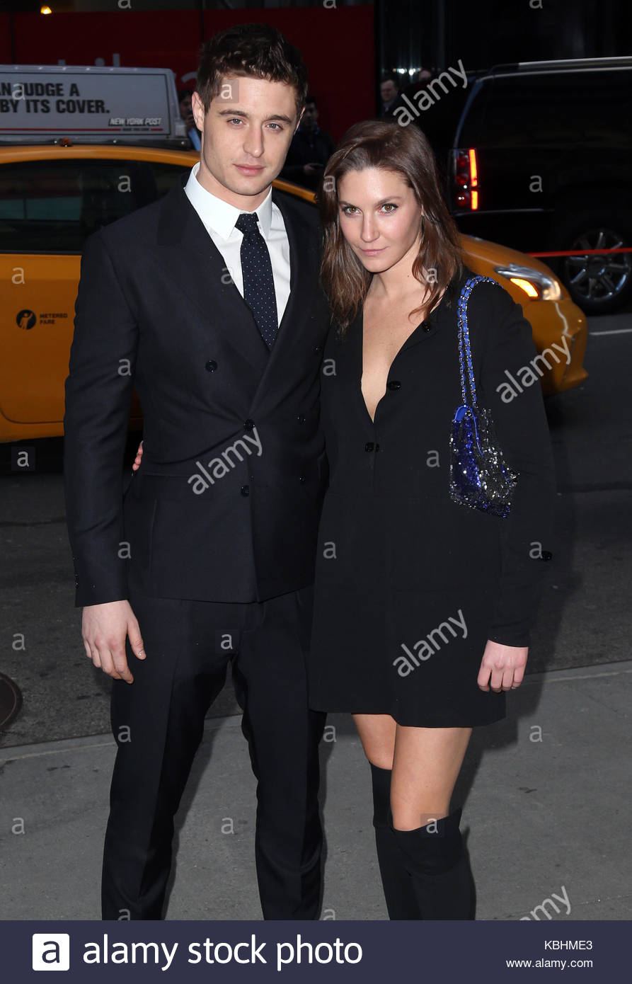 Max Irons, Sophie Pera. Celebrities at the Woman in Gold