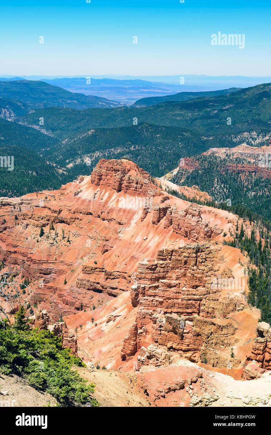Cedar Breaks National Monument Utah USA - Stock Image