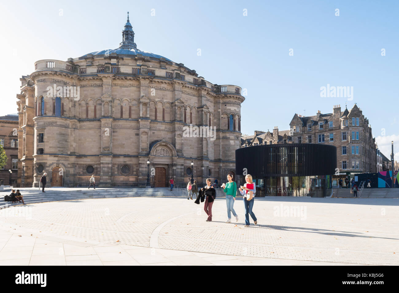 Edinburgh University McEwan Hall, Edinburgh, Scotland, UK - Stock Image