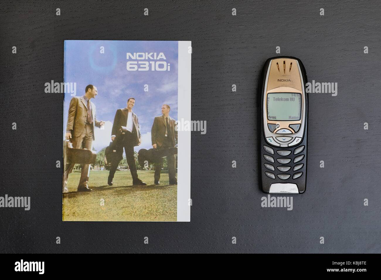 Old Nokia Mobile Phone Stock Photos Circuit Board From A 3310 Photo Picture And Image