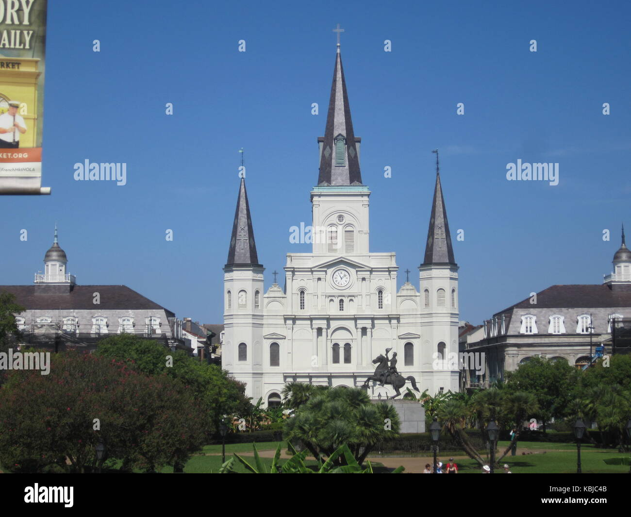 St louis cathedral New Orleans - Stock Image