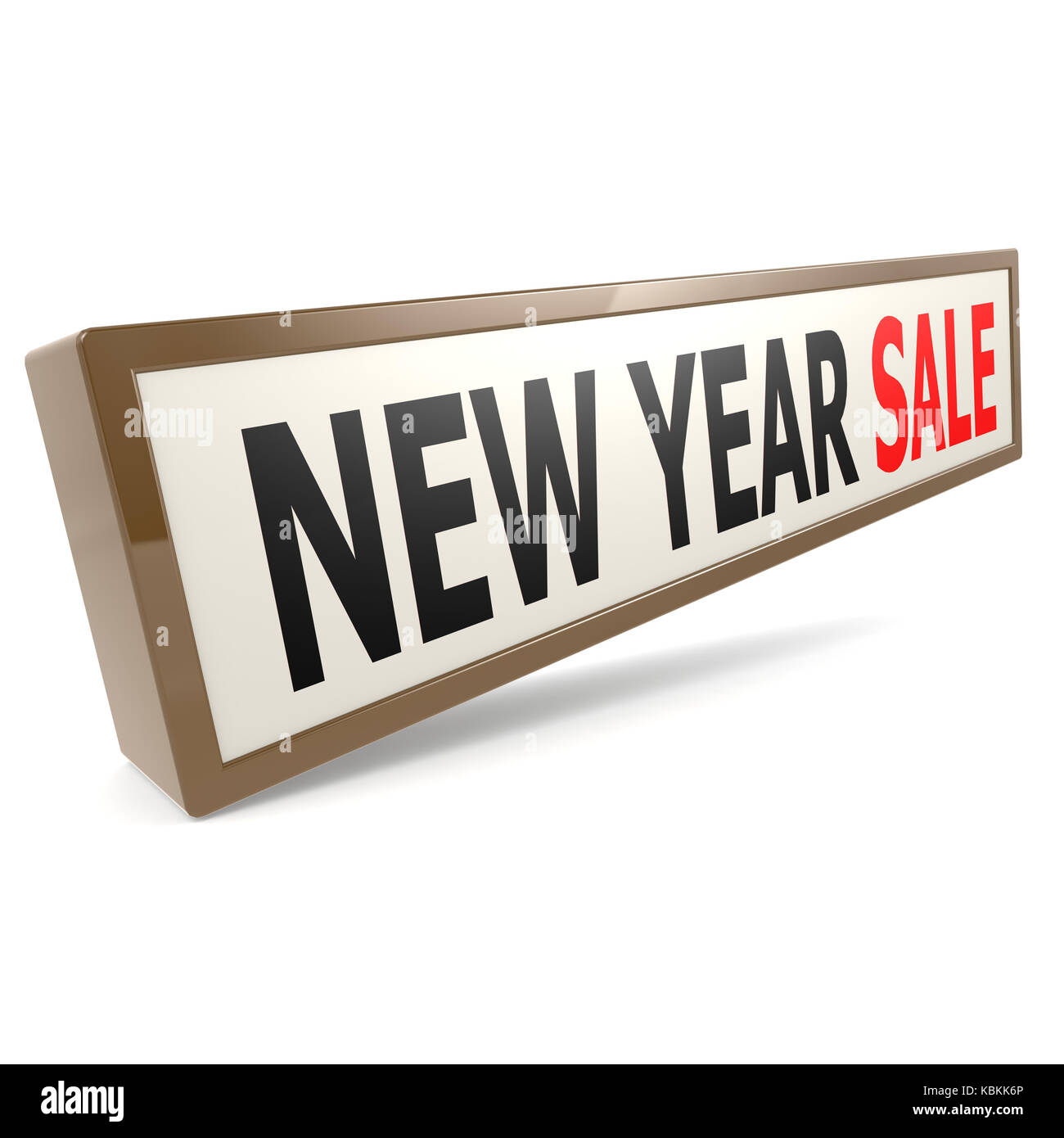 new year sale banner image with hi res rendered artwork that could be used for any graphic design