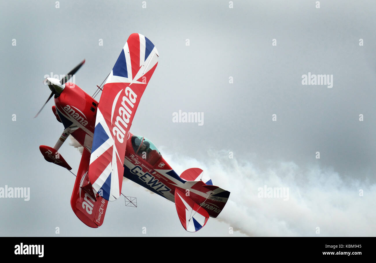 Pitts special aerobatic display biplane. - Stock Image